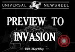 Image of pre-invasion maneuvers United Kingdom, 1944, second 1 stock footage video 65675071245