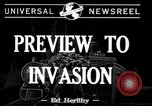 Image of pre-invasion maneuvers United Kingdom, 1944, second 4 stock footage video 65675071245