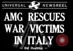 Image of evacuation Italy, 1944, second 1 stock footage video 65675071246