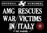 Image of evacuation Italy, 1944, second 2 stock footage video 65675071246