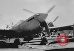 Image of Curtiss P-40L aircraft Atlantic Ocean, 1943, second 12 stock footage video 65675071272
