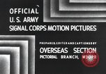 Image of 101st Airborne Division Bastogne Belgium, 1945, second 1 stock footage video 65675071300