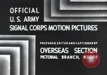 Image of 101st Airborne Division Bastogne Belgium, 1945, second 2 stock footage video 65675071300