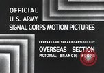 Image of 101st Airborne Division Bastogne Belgium, 1945, second 3 stock footage video 65675071300