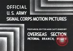 Image of 101st Airborne Division Bastogne Belgium, 1945, second 4 stock footage video 65675071300