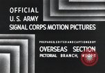 Image of 101st Airborne Division Bastogne Belgium, 1945, second 5 stock footage video 65675071300