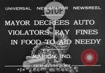 Image of auto violators Marion Indiana USA, 1932, second 1 stock footage video 65675071315