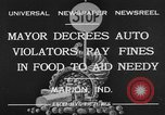 Image of auto violators Marion Indiana USA, 1932, second 2 stock footage video 65675071315