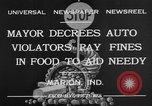 Image of auto violators Marion Indiana USA, 1932, second 3 stock footage video 65675071315