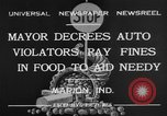 Image of auto violators Marion Indiana USA, 1932, second 5 stock footage video 65675071315