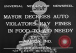 Image of auto violators Marion Indiana USA, 1932, second 7 stock footage video 65675071315