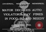 Image of auto violators Marion Indiana USA, 1932, second 9 stock footage video 65675071315