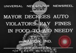 Image of auto violators Marion Indiana USA, 1932, second 11 stock footage video 65675071315