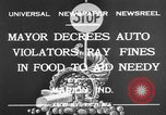 Image of auto violators Marion Indiana USA, 1932, second 12 stock footage video 65675071315