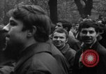 Image of Prague Spring anti-Soviet demonstrations Prague Czechoslovakia, 1968, second 3 stock footage video 65675071319