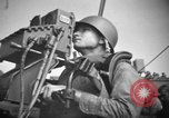 Image of practice firing Iwo Jima, 1945, second 6 stock footage video 65675071339