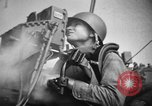 Image of practice firing Iwo Jima, 1945, second 7 stock footage video 65675071339