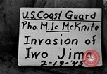 Image of beachhead activities Iwo Jima, 1945, second 1 stock footage video 65675071351
