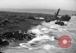 Image of beachhead activities Iwo Jima, 1945, second 5 stock footage video 65675071351
