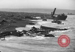 Image of beachhead activities Iwo Jima, 1945, second 9 stock footage video 65675071351
