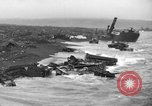 Image of beachhead activities Iwo Jima, 1945, second 10 stock footage video 65675071351