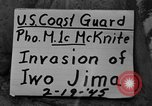 Image of beachhead activities Iwo Jima, 1945, second 3 stock footage video 65675071355