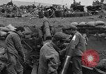 Image of beachhead activities Iwo Jima, 1945, second 10 stock footage video 65675071355