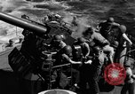 Image of invasion fleet Iwo Jima, 1945, second 4 stock footage video 65675071357