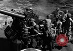 Image of invasion fleet Iwo Jima, 1945, second 6 stock footage video 65675071357