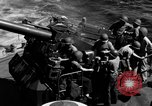 Image of invasion fleet Iwo Jima, 1945, second 7 stock footage video 65675071357