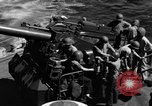 Image of invasion fleet Iwo Jima, 1945, second 9 stock footage video 65675071357