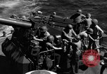 Image of invasion fleet Iwo Jima, 1945, second 10 stock footage video 65675071357