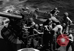 Image of invasion fleet Iwo Jima, 1945, second 11 stock footage video 65675071357