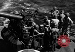 Image of invasion fleet Iwo Jima, 1945, second 12 stock footage video 65675071357