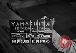 Image of Yamashita trial Manila Philippines, 1945, second 6 stock footage video 65675071358