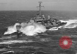 Image of aircraft carrier in Hawaii Pearl Harbor Hawaii USA, 1949, second 9 stock footage video 65675071363
