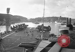 Image of aircraft carrier in Hawaii Pearl Harbor Hawaii USA, 1949, second 10 stock footage video 65675071363