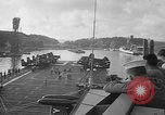 Image of aircraft carrier in Hawaii Pearl Harbor Hawaii USA, 1949, second 12 stock footage video 65675071363