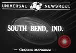 Image of Notre Dame South Bend Indiana USA, 1941, second 7 stock footage video 65675071396