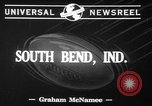 Image of Notre Dame South Bend Indiana USA, 1941, second 8 stock footage video 65675071396