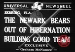 Image of Newark Bears Sebring Florida USA, 1941, second 5 stock footage video 65675071400