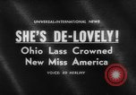 Image of beauty contest Atlantic City New Jersey USA, 1962, second 5 stock footage video 65675071408