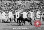 Image of rodeo Los Angeles California USA, 1951, second 2 stock footage video 65675071434