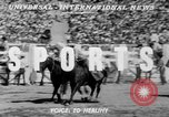 Image of rodeo Los Angeles California USA, 1951, second 3 stock footage video 65675071434