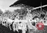 Image of rodeo Pendleton Oregon USA, 1955, second 1 stock footage video 65675071442
