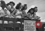 Image of young girls Port Arthur Texas USA, 1944, second 12 stock footage video 65675071447