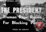 Image of Harry S Truman Missouri United States USA, 1950, second 3 stock footage video 65675071450