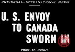 Image of Stanley Woodward United States USA, 1950, second 1 stock footage video 65675071456