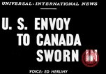 Image of Stanley Woodward United States USA, 1950, second 2 stock footage video 65675071456