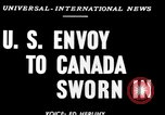 Image of Stanley Woodward United States USA, 1950, second 3 stock footage video 65675071456